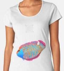 Save the Fish - Detroit become Human (Good for Coloured shirts) Women's Premium T-Shirt