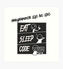 Software Engineer Art Print