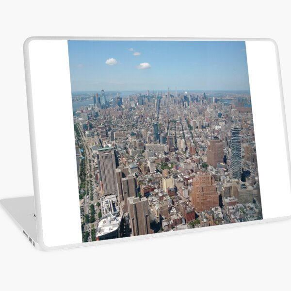New York City, Manhattan, Brooklyn, New York, streets, buildings, skyscrapers, cars, pedestrians, #NewYorkCity, #Manhattan, #Brooklyn, #NewYork, #streets, #buildings, #skyscrapers, #cars, #pedestrians Laptop Skin