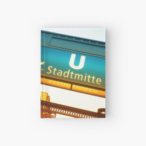 Berlin - U-Bahn Station Stadtmitte Notizbuch