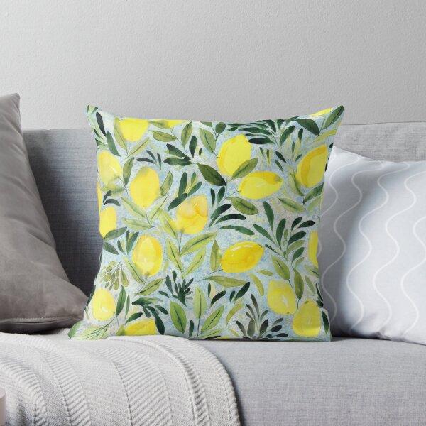 Citrons Coussin