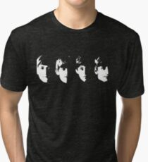 with the beatles Tri-blend T-Shirt