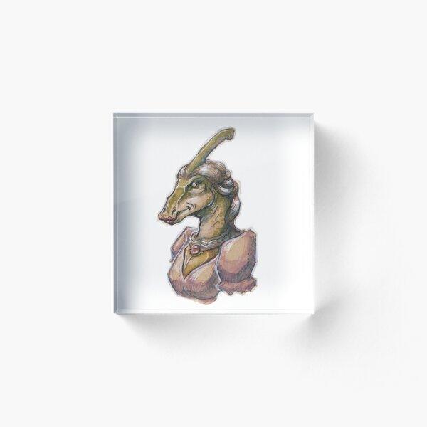 Parasaurolophus  Acrylic Block
