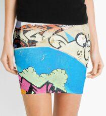 Stairway to graffiti heaven. Mini Skirt