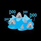 Doo Doo Doo Doo sharks by jazzydevil