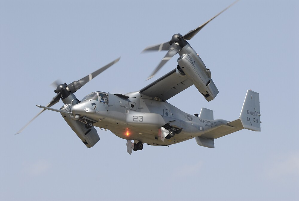 V-22 Osprey by karmicimages