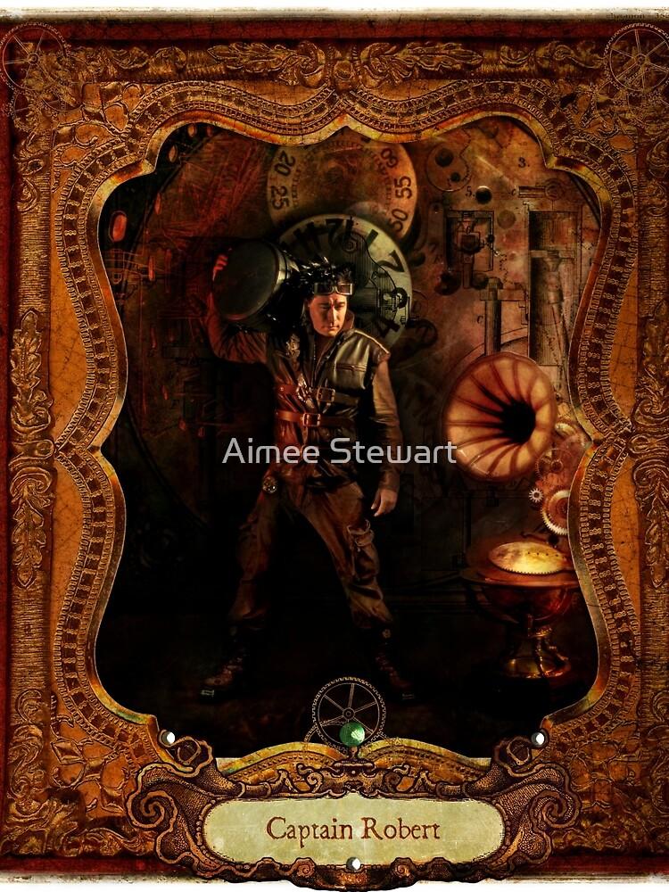 2012 Steampunk Calendar Page 10 by Foxfires