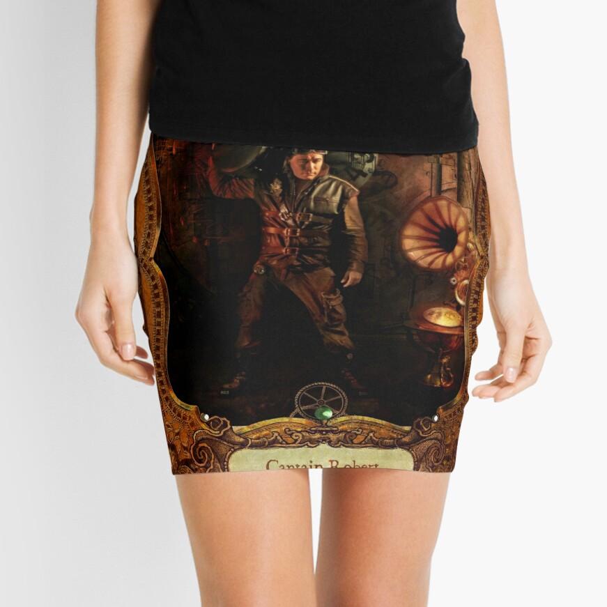 2012 Steampunk Calendar Page 10 Mini Skirt