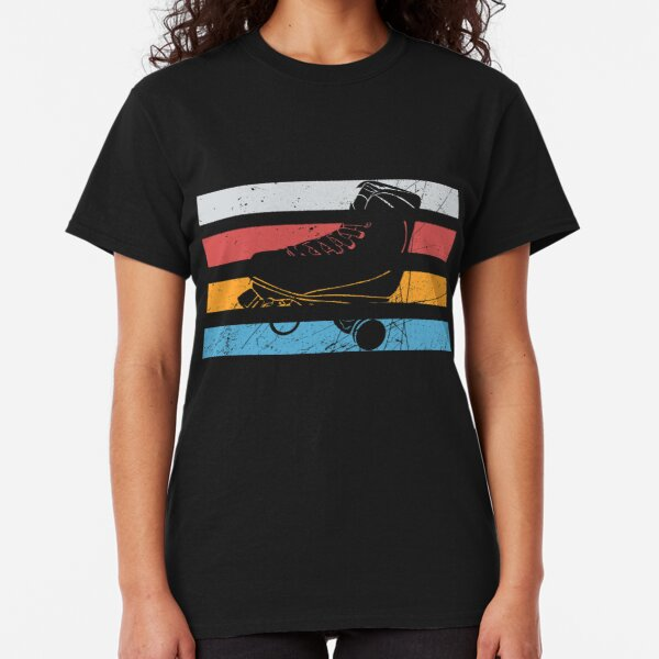 Roller Skating - Just Skate Retro Style 70s-80s Unisex All Ages Classic T-Shirt