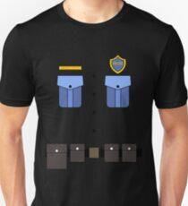 Police Officer Costume for Carnaval Halloween Unisex T-Shirt