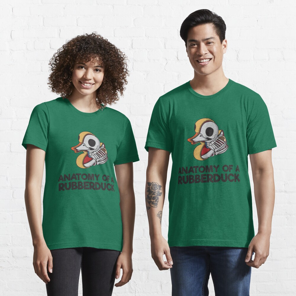 Anatomy Of A Rubberduck - Funny Duck  Gift Essential T-Shirt