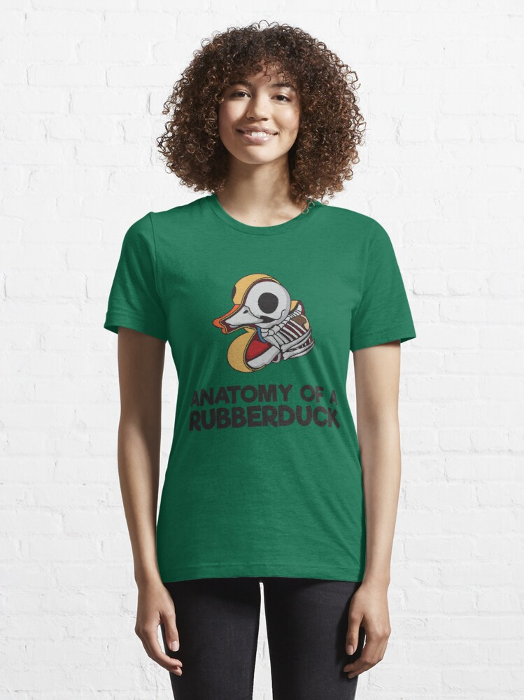 Alternate view of Anatomy Of A Rubberduck - Funny Duck  Gift Essential T-Shirt