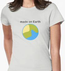 Made on Earth Women's Fitted T-Shirt