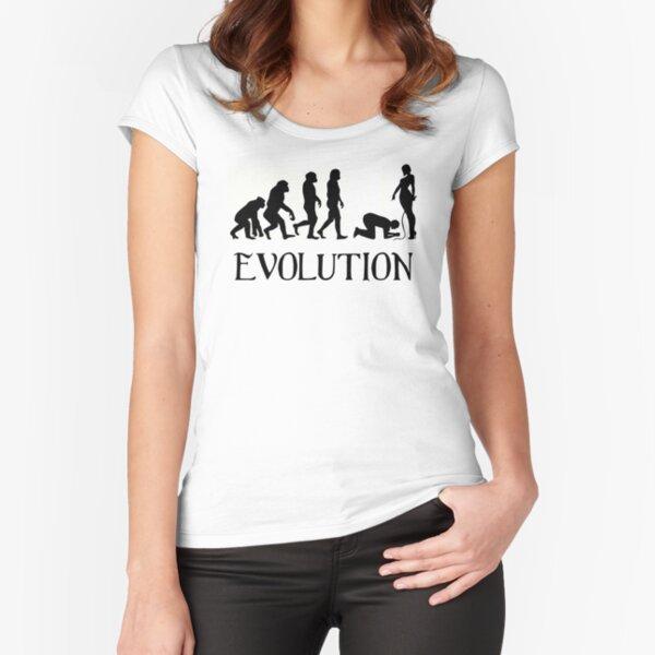 Femdom BDSM Evolution Fitted Scoop T-Shirt