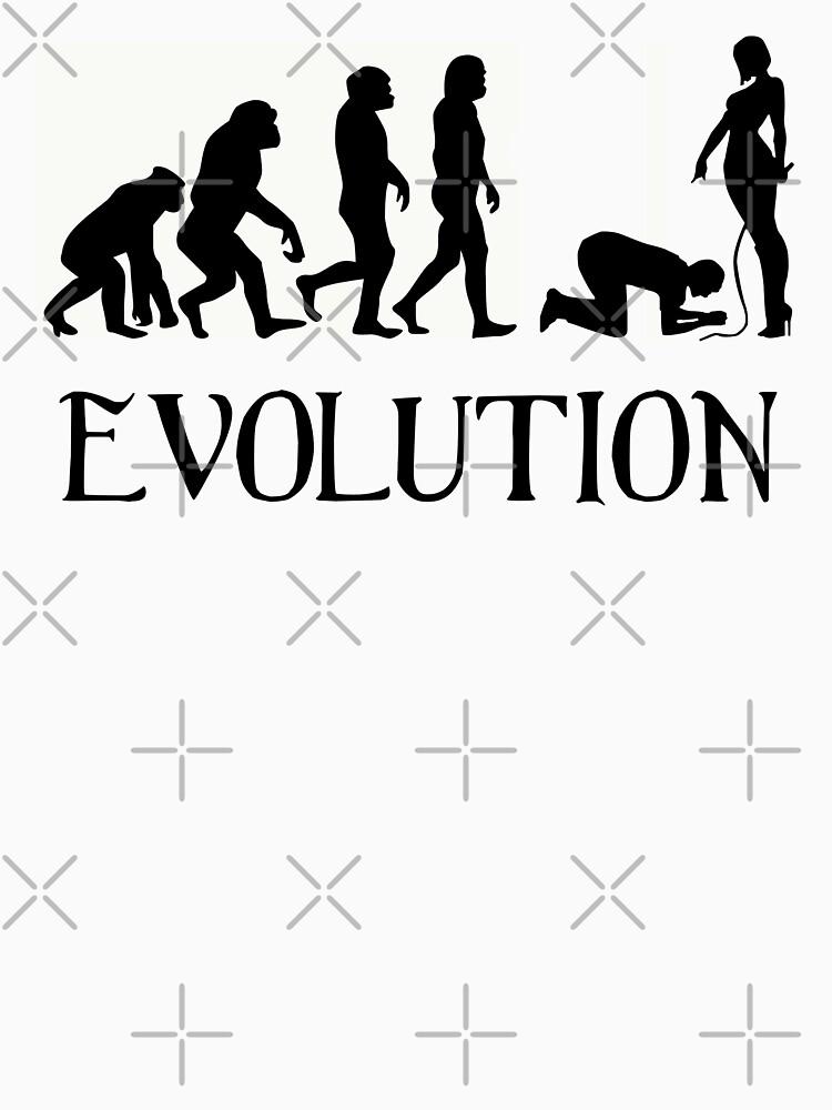 Femdom BDSM Evolution by BDSM-T-Shirt