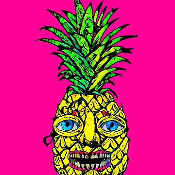Monsieur Ananas by oldtroublesome