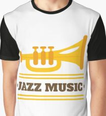 Jazz music  001 Graphic T-Shirt