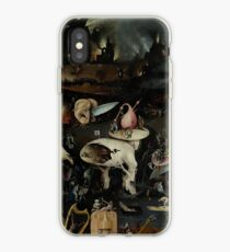 Hell, The Garden of Earthly Delights - Hieronymus Bosch iPhone Case