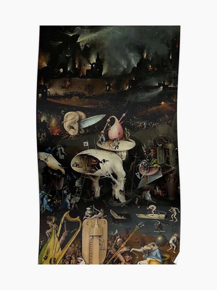 Hell, The Garden of Earthly Delights , Hieronymus Bosch