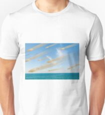 Coins falling out of the sky  Unisex T-Shirt