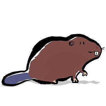 beaver by greendeer