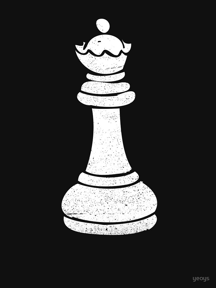 Queen Chess Piece - Cool Chess Club Gift by yeoys