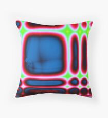 cortexual revolution in laptop land Throw Pillow