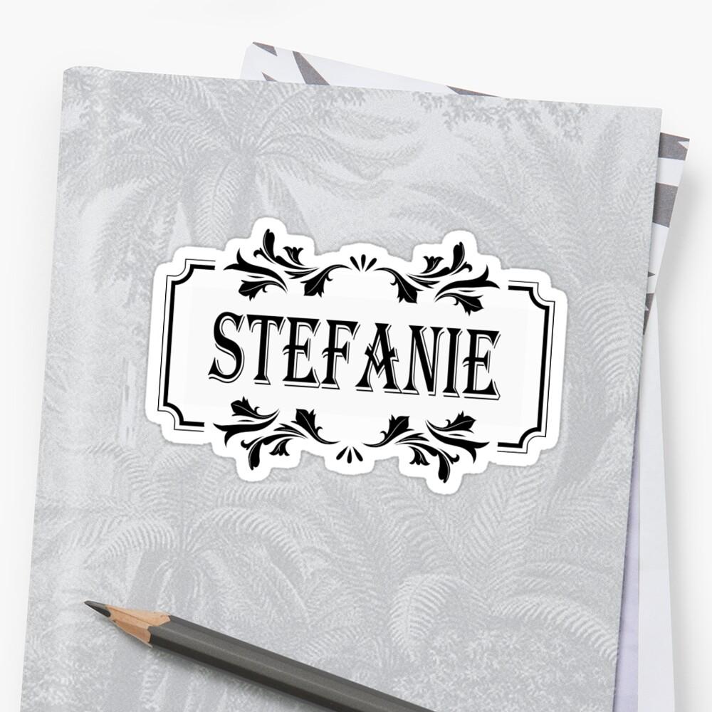 Frame Name Stefanie\