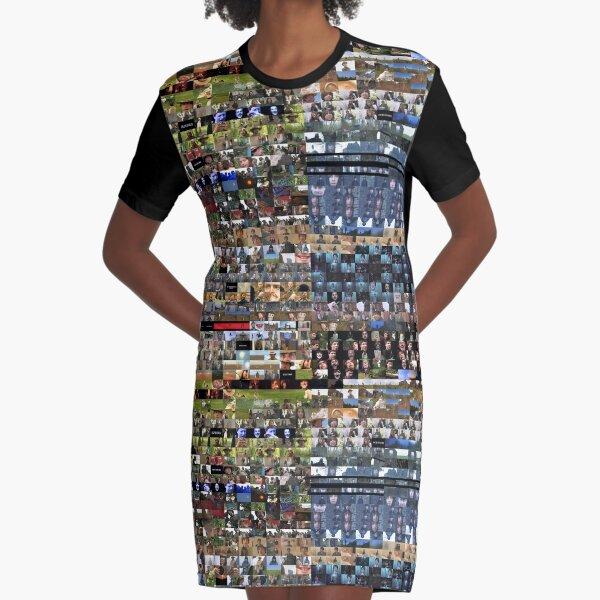 """Django Away! Thingy Frames"" - Full Graphic Dress Graphic T-Shirt Dress"