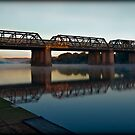 Victoria Bridge (Penrith, Australia) by Manfred Belau
