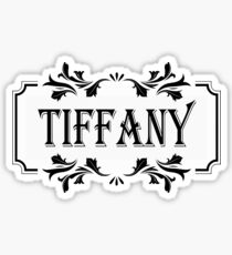 Frame Name Tiffany Sticker