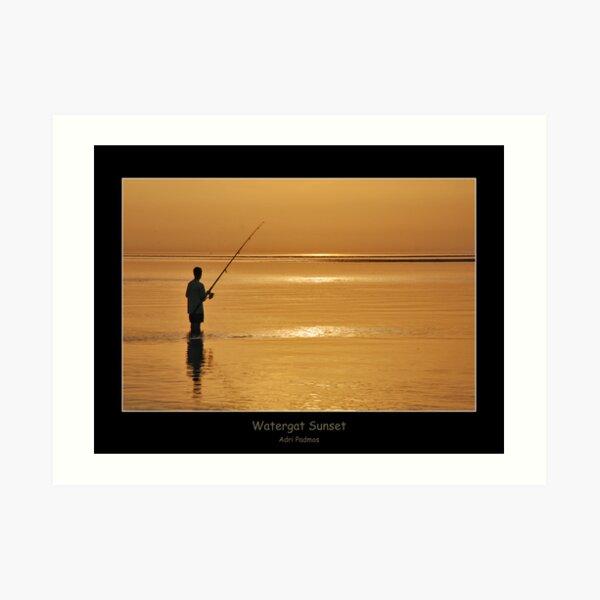 Watergat Sunset Art Print