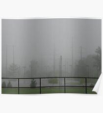 Misty Fog Sculptures I Poster