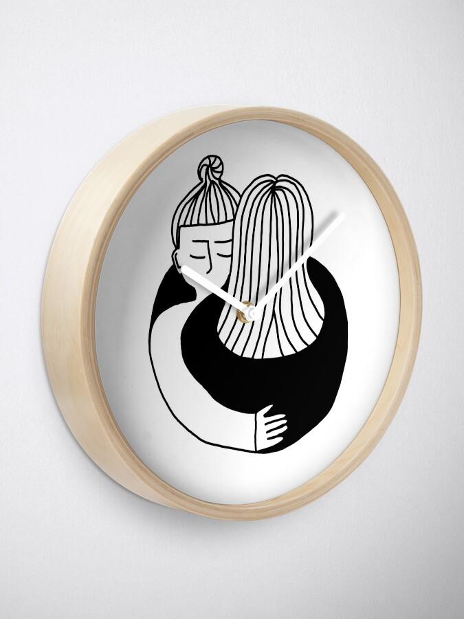 Alternative Ansicht von The Hug Uhr