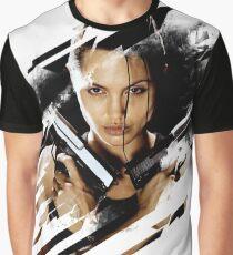 Lara Croft - Tomb Raider - Angelina Jolie Graphic T-Shirt
