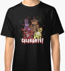 Five Nights At Freddy's Celebrate! Classic T-Shirt