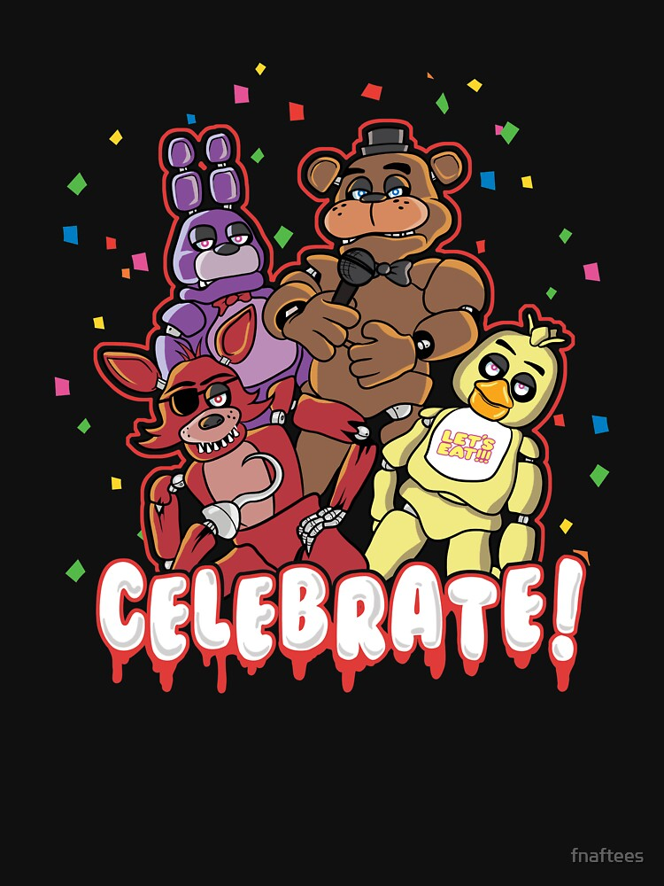 Five Nights At Freddy's Celebrate! | Unisex T-Shirt