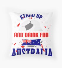 World Cup T-shirt Australia Throw Pillow