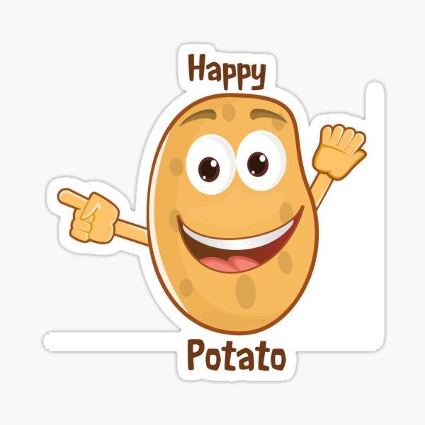 Happy Potato Sticker