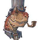 Fancy Carnotaurus by Joshosaurus