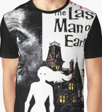 Vincent Price Last Man on Earth Graphic T-Shirt