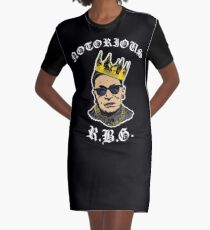 Berüchtigtes RBG Tshirt Lustiges Ruth Bader Ginsburg T-Shirt T-Shirt Kleid