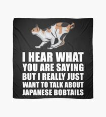 Japanese Bobtail Cat Gift Scarf