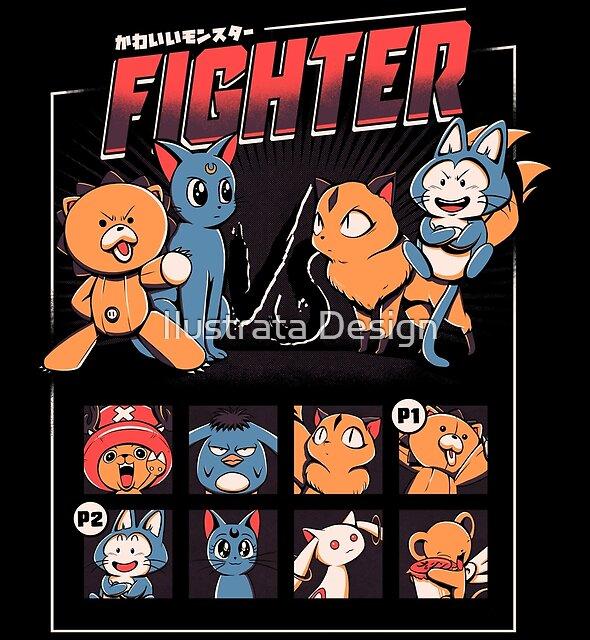 Anime fight by Ilustrata Design