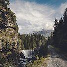 Mallero - Mountain Creek near Chiesa in Valmalenco by Dirk Wuestenhagen