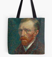 Vincent van Gogh - Self-Portrait, 1887 Tote Bag