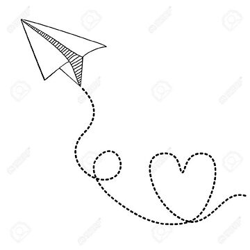 Paper plane by unknownurl