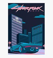 Cyberpunk 2077 Photographic Print