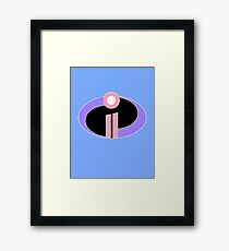 The Incredibles 2 Framed Print