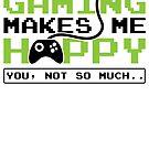 Savvy Turtle Gaming Makes Me Happy by SavvyTurtle